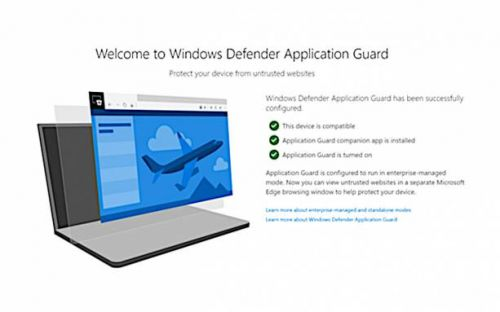 Windows Defender for Chrome and Firefox requires Microsoft Edge