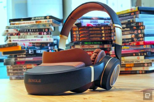 Royole's 'personal cinema' headset carries a heavy premium