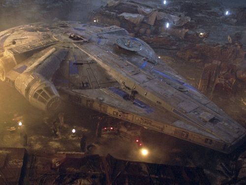 A creator of the original Millennium Falcon describes how the legendary 'Star Wars' ship was made with airplane scraps and lots of imagination