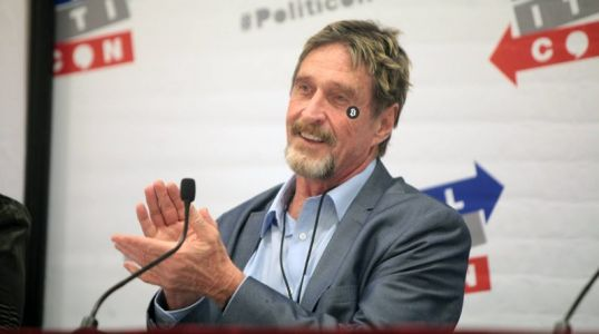 John McAfee's 'unhackable' cryptocurrency wallet has been hacked