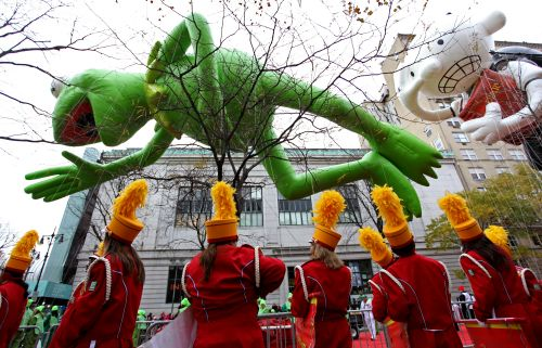 Off topic: Thanksgiving Day parades, periodic table of endangered elements, not-so-sad songs