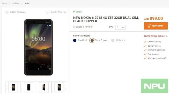 Nokia 6 2018 available in UAE, 7 Plus in Saudi Arabia. 7 Plus on pre-order in UAE