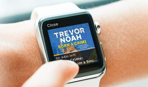 Audible comes to the Apple Watch
