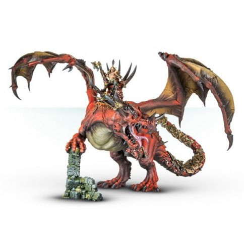 New Khorne Champion on Dragon Available to Order from Forge World