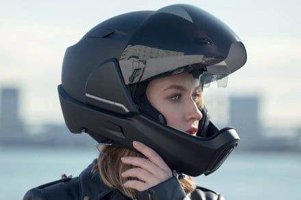 Awesome tech you can't buy yet: Robo friends for Fido, a smart motorcycle helmet