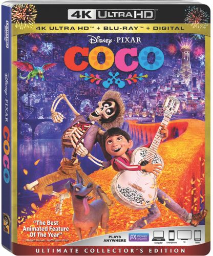 'Coco' 4K UHD Blu-ray Review