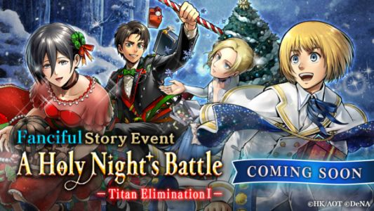 Attack On Titan TACTICS Is Getting A Holiday Event Soon