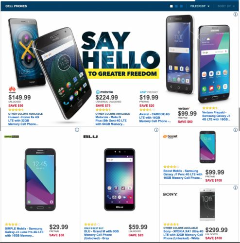 Here are some of Best Buy's Black Friday deals you should check out