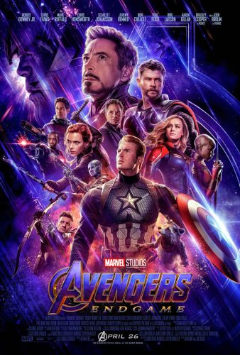 Stylish New Avengers: Endgame Poster Brings All The Heroes Together