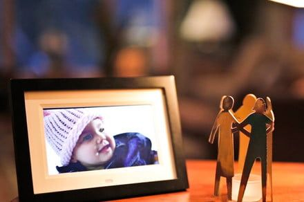 Email photos to the Skylight Frame for display on its 10-inch screen