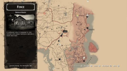 Red Dead 2 Fence Location Guide: Here's Where To Sell Your Stolen Items For Cash