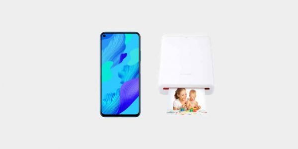 Bon plan:  un bundle Huawei Nova 5T + Pocket printer à 359€