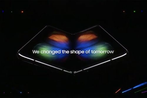 Samsung Galaxy Fold is real, gorgeous, and folds out to a 7.3-inch display