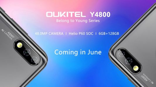 OUKITEL Y4800 from new Young series leaked with 48MP camera and Helio P60