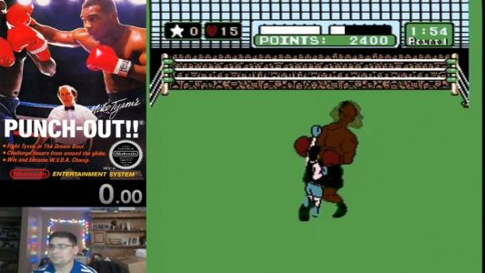 Guy Knocks Out Mike Tyson In PUNCH OUT In Under Two And A Half Minutes