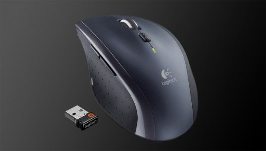 The Marathon Mouse costs $39 and lasts for 3 years on 2 AA batteries