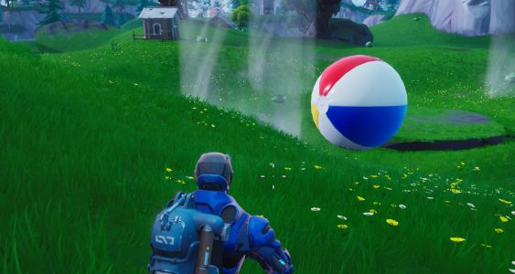Fortnite Locations: Where To Bounce Giant Beach Balls - 14 Days Of Summer Challenge Guide