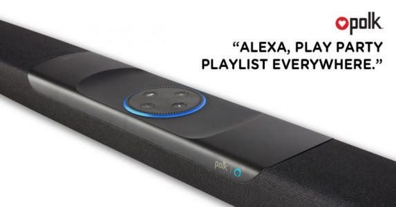 Polk's Alexa-enabled soundbar now supports multi-room music