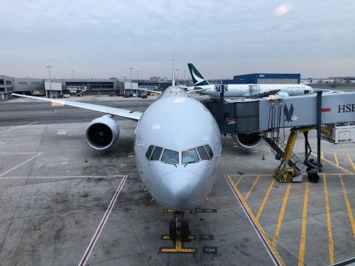 I flew economy class on one of American Airlines' busiest international routes - here's what it was like