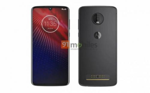 Moto Z4 render looks very familiar, causes some confusion