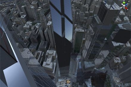 VR takes you to the top of a skyscraper to help you face your fear of heights