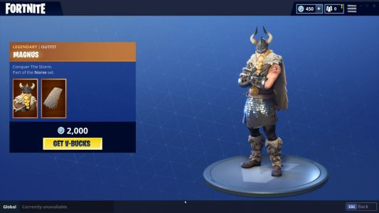 Cool New Fortnite Skin Out Now Ahead Of 5.0 Content Update's Release
