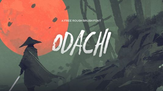 23 top free brush fonts