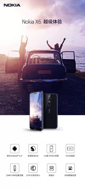 New Nokia X6 variant TA-1103 seen raising hope of a global launch