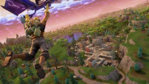 Fortnite is broadcasting hints on its in-game TVs again