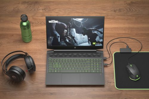The HP Pavilion Gaming 16 is an $800 gaming laptop with 16 inches of screen