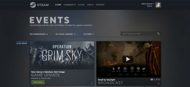 Valve Plans Steam Facelift With Library Redesign, New Events Page