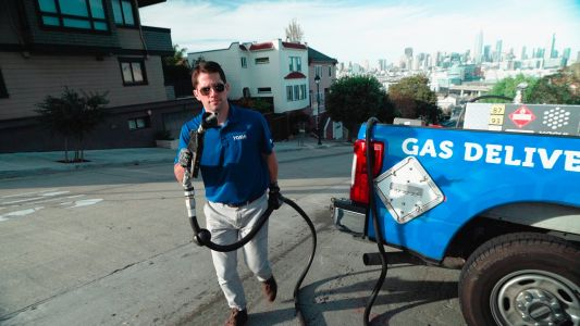 An ExxonMobil-backed startup that delivers gas to people's cars is growing across the US