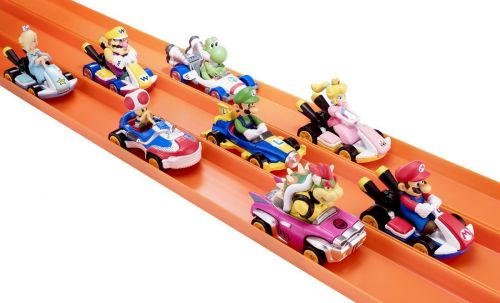 Mario Kart Hot Wheels Debut At San Diego Comic Con 2018