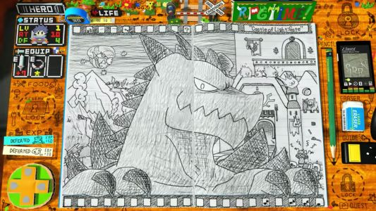 Hand-drawn indie game is a doodle art dream