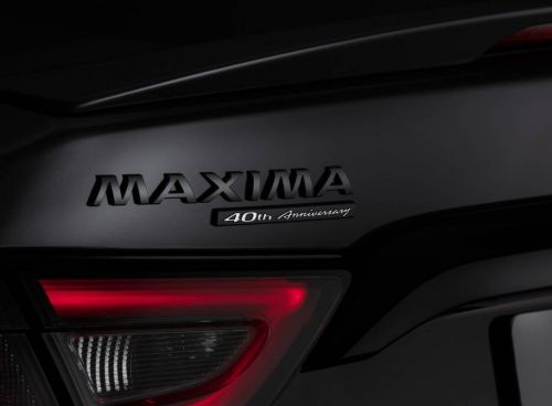 2021 Nissan Maxima 40th Anniversary Edition arrives with bespoke features aplenty