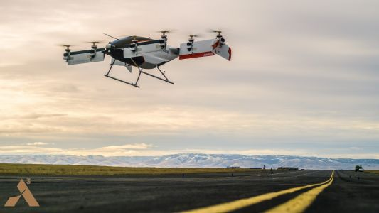Watch Airbus' drone taxi take to the skies for the first time