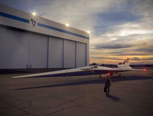 Lockheed Martin is hard at work on the X-59 Quiet Supersonic Technology aircraft