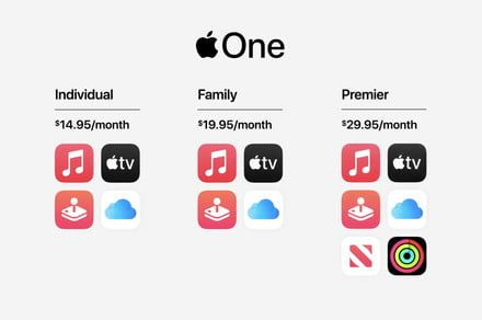 Apple One subscription brings all of Apple's services together for one price