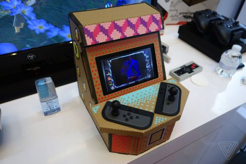 Nyko's $20 cardboard arcade for the Switch looks to trade on the Labo's success
