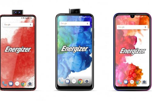 Energizer says it's making phones with pop-up cameras, 18,000mAh batteries, and foldable displays