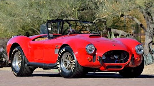 Paul Walker's 1965 FAM Shelby 427 Cobra Up for Auction at Mecum's