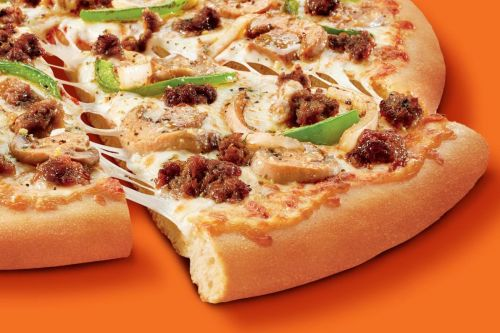 Impossible Foods is making meat-free sausage, and Little Caesars is putting it on pizza