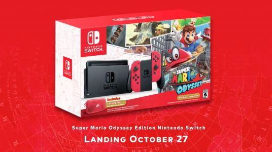 Super Mario Odyssey Nintendo Switch Bundle Revealed