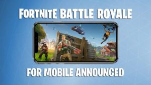 Registration for the iOS version of Fornite is now open