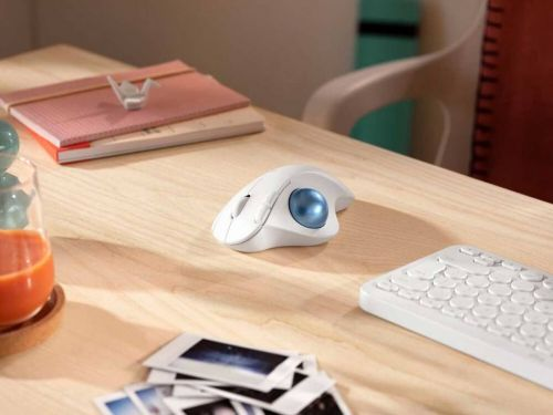 Logitech Ergo M575 Wireless Trackball Mouse aims to be ergonomic and save space