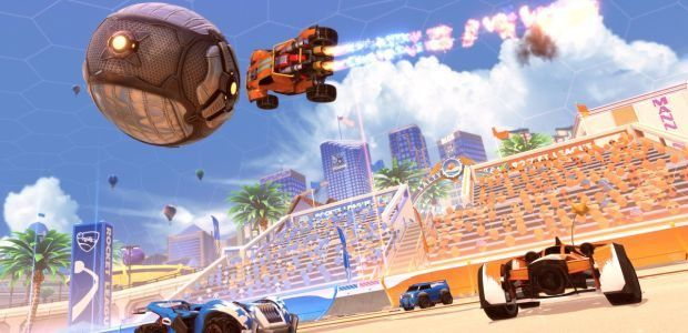 Rocket League rocks up to the beach with Salty Shores