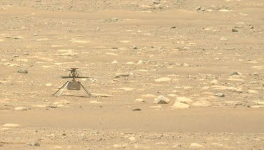 Ingenuity Mars Helicopter spin test has completed