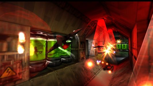 Descent-like retro FPS Forsaken gets a Nightdive remaster next week