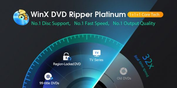 WinX DVD Ripper can help solve DVD playback issues in Windows 10