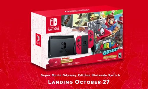 Super Mario Odyssey Edition Switch Coming In October